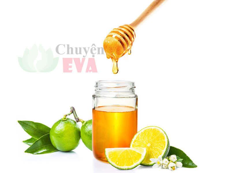 hỗn hợp chanh mật ong