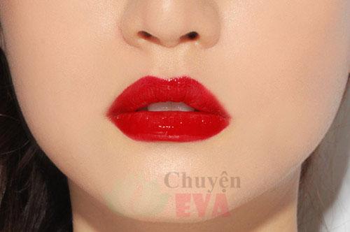 son môi đỏ