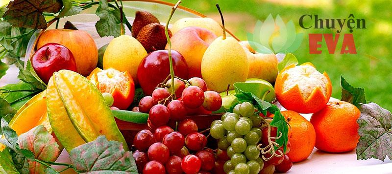 giảm cân với trái cây