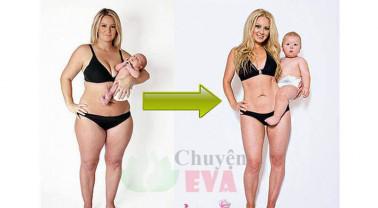 6 Phương pháp giảm mỡ bụng hiệu quả sau sinh