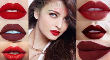 Son môi đỏ với nhiều phong cách